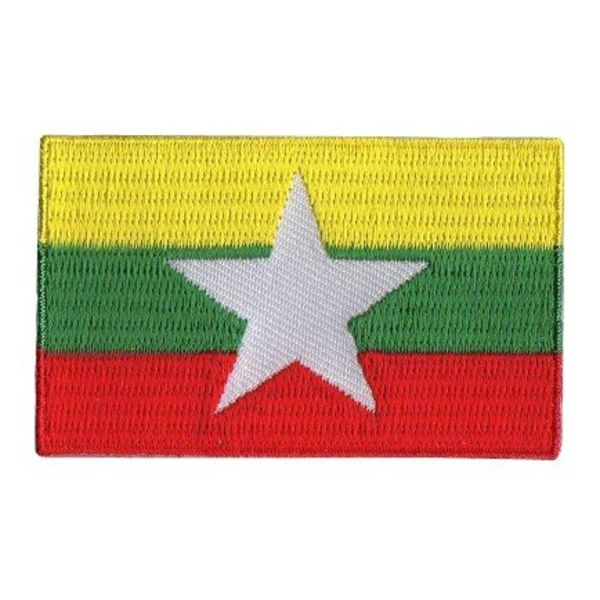 BACKPACKFLAGS flag patch Myanmar
