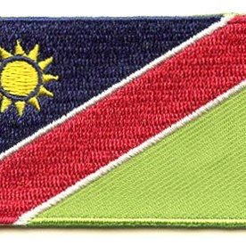 Flaggenpatch Namibia