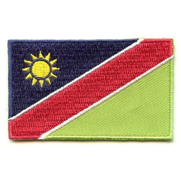 BACKPACKFLAGS flag patch Namibia
