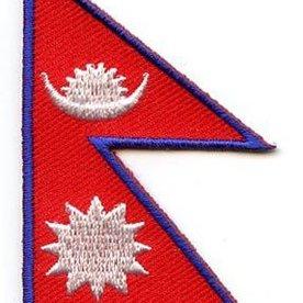 Flaggenpatch Nepal