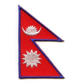 BACKPACKFLAGS flag patch Nepal