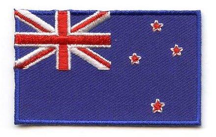 vlag patch Nieuw-Zeeland
