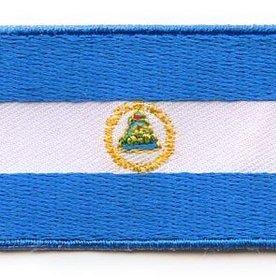Flaggenpatch Nicaragua