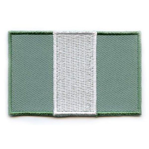 BACKPACKFLAGS flag patch Nigeria