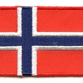 Flaggenpatch Norwegen