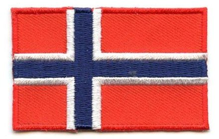 flag patch Norway