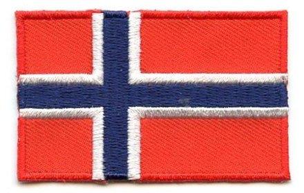 vlag patch Noorwegen