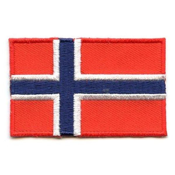 Norwegen Flagge Patch