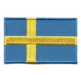BACKPACKFLAGS flag patch Sweden
