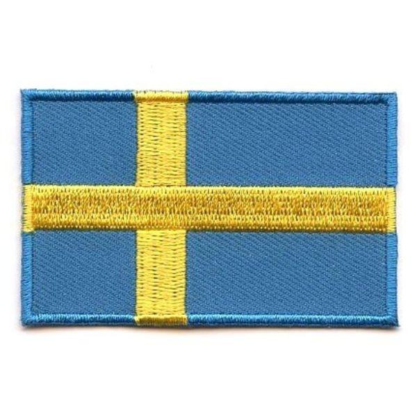 Swedish flag patch