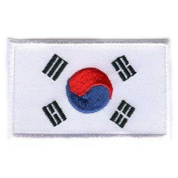 Südkorea-Flaggenflecken