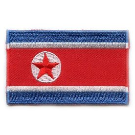 Flag Patch Nordkorea