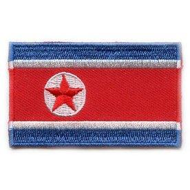 flag patch North Korea