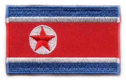 vlag patch Noord-Korea
