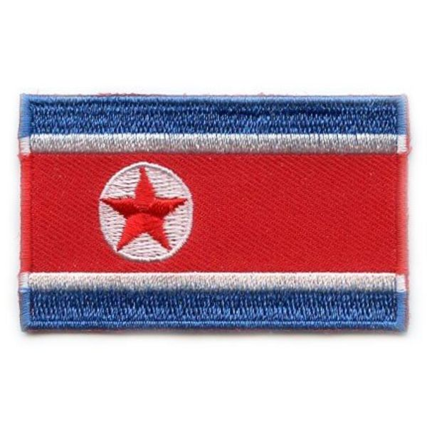BACKPACKFLAGS flag patch North Korea