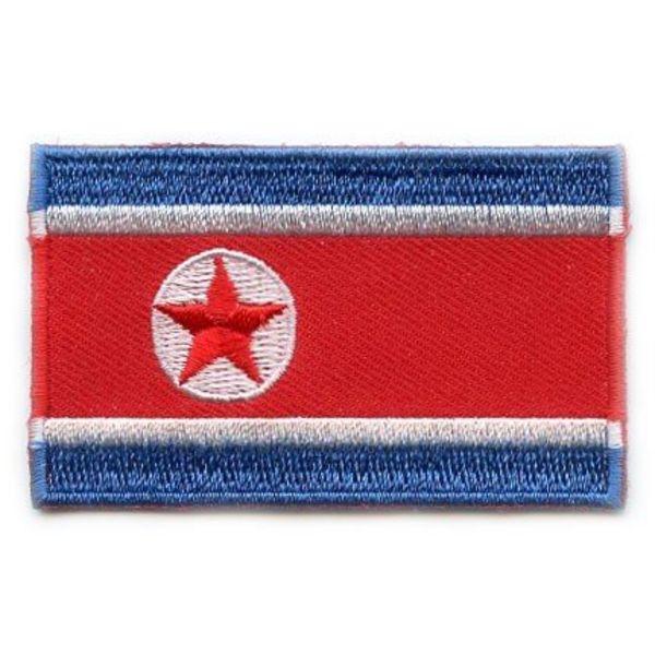 Nordkorea Flag Patch