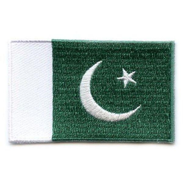 Pakistan-Flaggenflecken