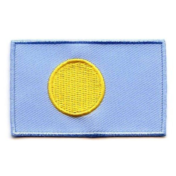 BACKPACKFLAGS flag patch Palau