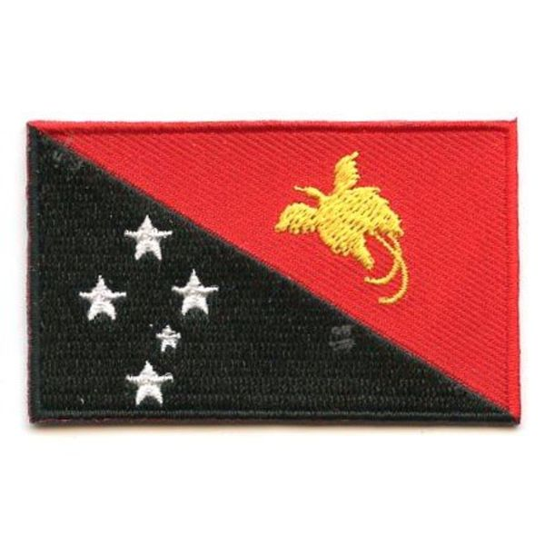 Flaggen-Patch Papua-Neuguinea