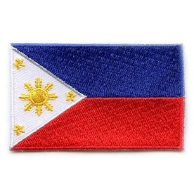flag patch Philippinen