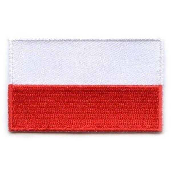 Polnischer Flaggen-Patch