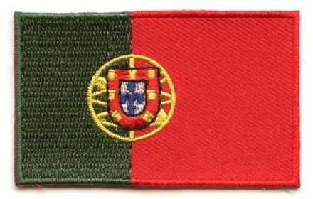 Flagge Patch Portugal