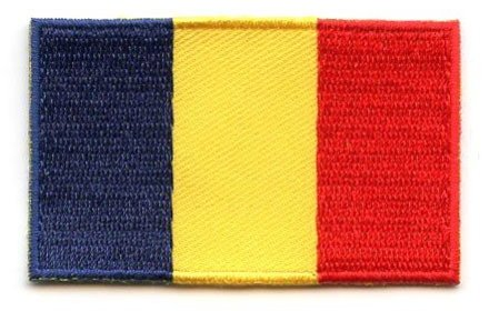 flag patch Romania