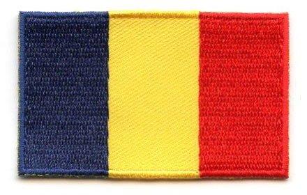 vlag patch Roemenië