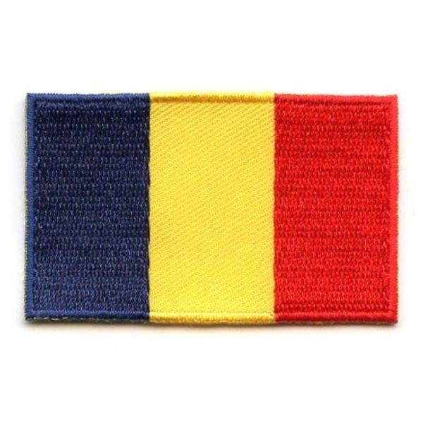 Rumänische Flagge Patch
