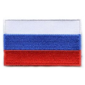 Flaggenpatch Russland