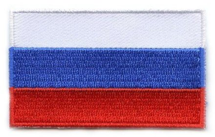 flag patch Russia