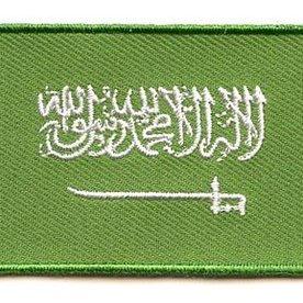 flag patch Saudi Arabia