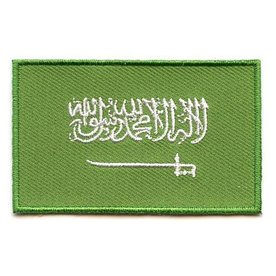 Flagge Patch Saudi-Arabien