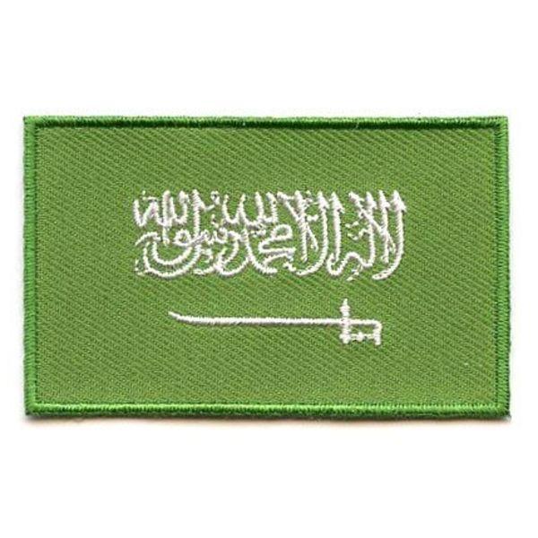 BACKPACKFLAGS flag patch Saudi Arabia
