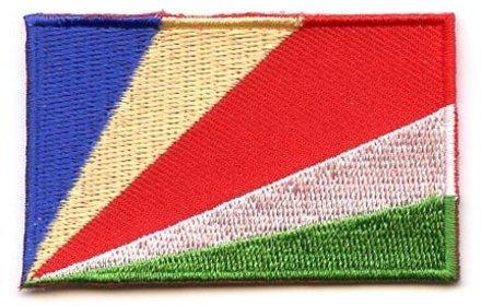 Flaggenpatch Seychellen