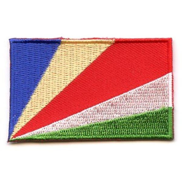 BACKPACKFLAGS flag patch Seychelles