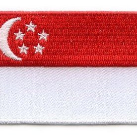 flag patch Singapore