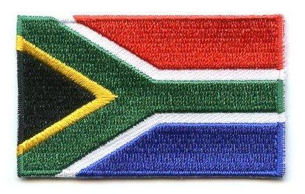 Flaggen-Patch Südafrika