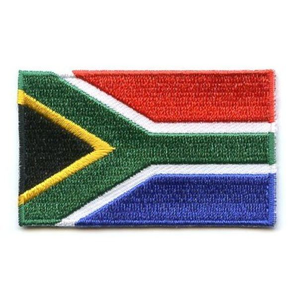 South African flag patch