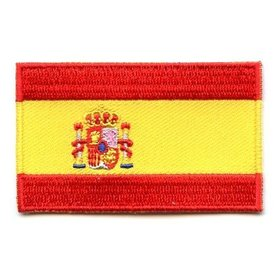 Flaggen-Patch Spanien
