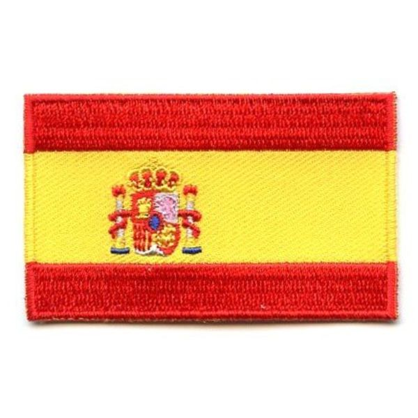 Spain flag patch