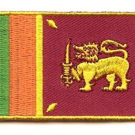 Flaggenpatch Sri Lanka