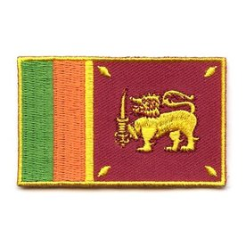 flag patch Sri Lanka