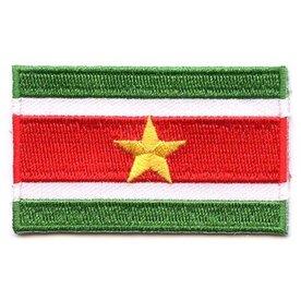 Flaggenpatch Surinam