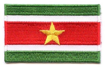 vlag patch Suriname