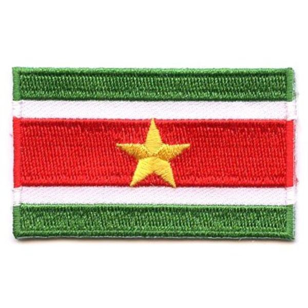 BACKPACKFLAGS flag patch Suriname
