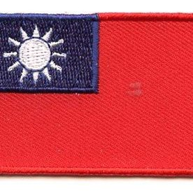 BACKPACKFLAGS flag patch Taiwan