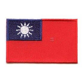 Flaggenpatch Taiwan