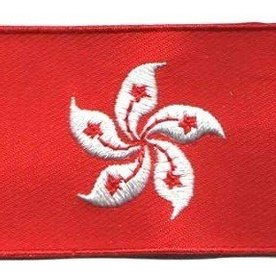 BACKPACKFLAGS flag patch Hong Kong
