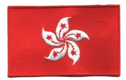 flag patch Hong Kong